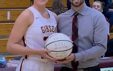 Senior Meredith Raley surpasses 1,000 career points
