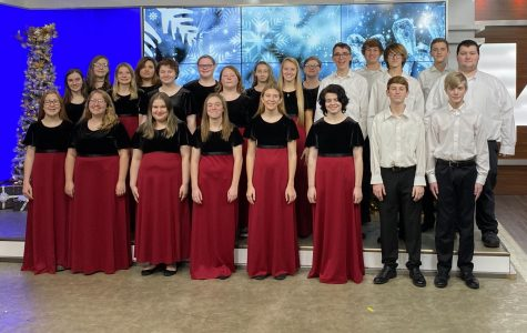 Choir kids spread holiday cheer