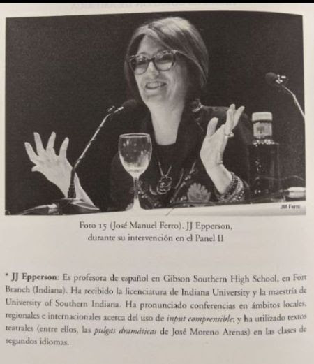 Spanish teacher JJ Epperson becomes published author