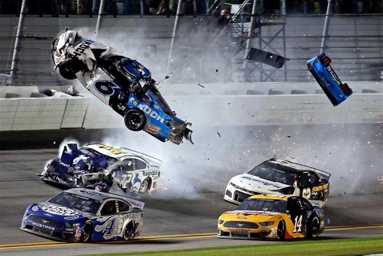 Daytona+500+leaves+many+injured