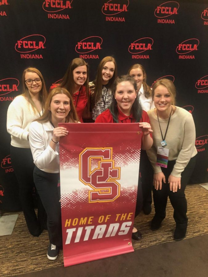 FCCLA students earn many awards at state contest