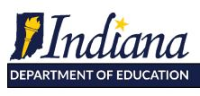 Indiana Department of Ed requests state test forgiveness