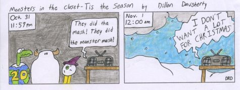 "Cartoon: Monsters in the Closet - ""Tis the Season"""