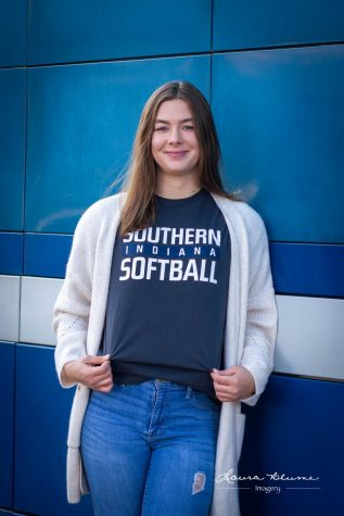 Attending USI to study exercise science and play softball