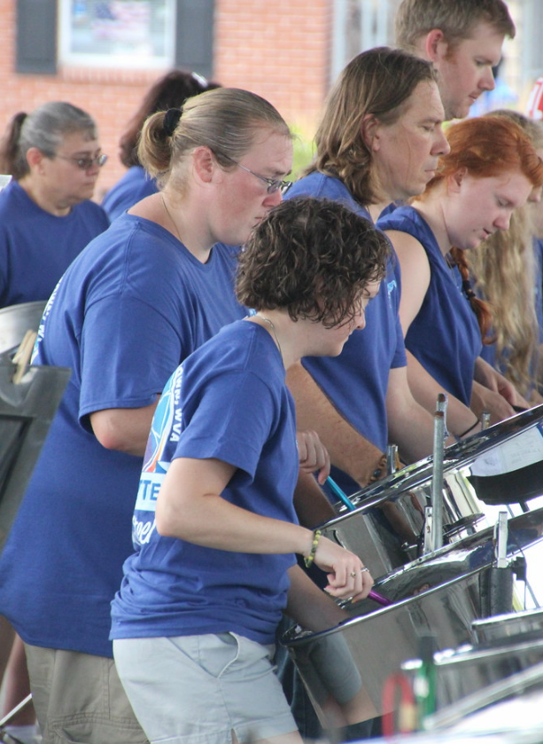 Gibson Southern math teacher Angela Cooper has spent years learning, practicing and performing the steelpan, commonly referred to as the steel drum.